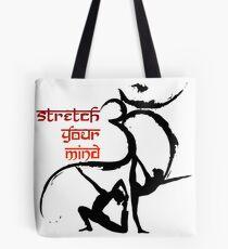 OM Yoga Stretch your mind Tote Bag