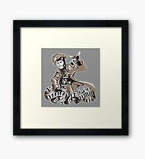 Shufflin Framed Print