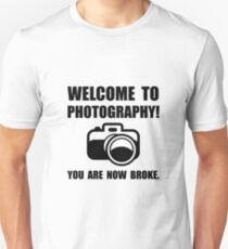 Photography Broke T-Shirt