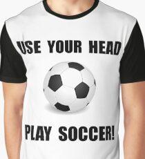 Soccer Head Graphic T-Shirt