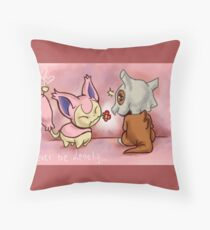 Never Be Lonely Throw Pillow