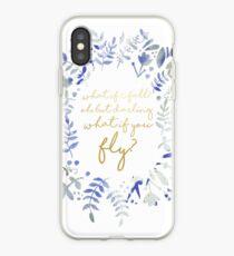 Vinilo o funda para iPhone ¿Qué pasa si vuelas una cita floral?