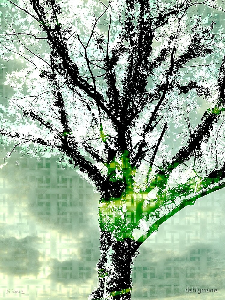 Entwined in Green by Shawna Rowe