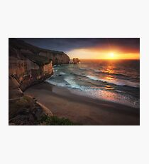 Tunnel Beach Photographic Print
