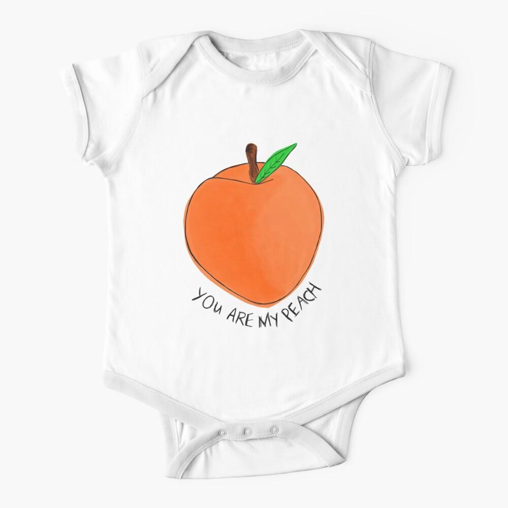 Peach Baby One-Piece