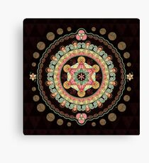 Merkabah Transformational Bliss Canvas Print