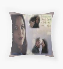 Regina's happy ending Throw Pillow