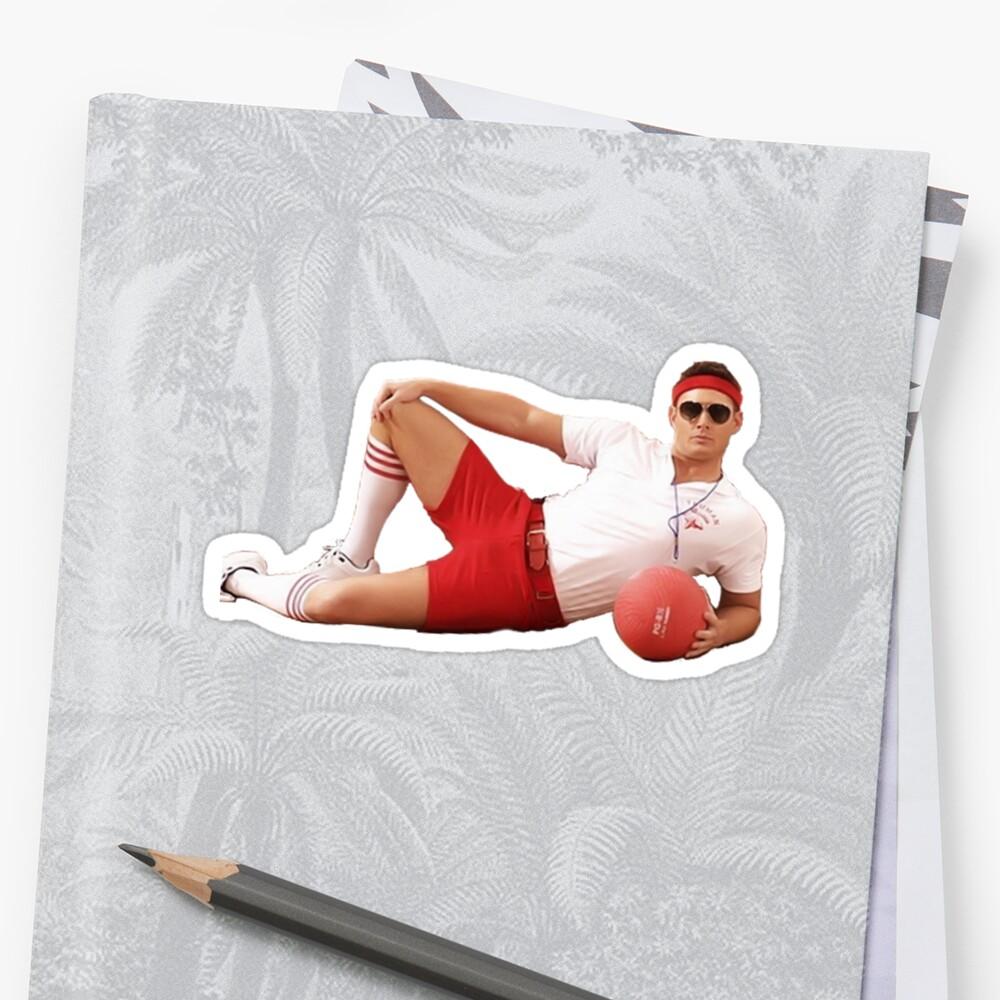 Trainer Dean Winchester Sticker