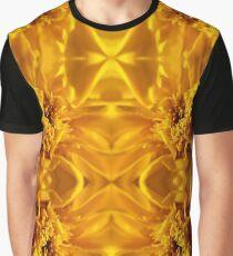 Yellow Flower Graphic T-Shirt