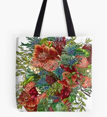 Orchids, Roses & Thistles Tote Bag