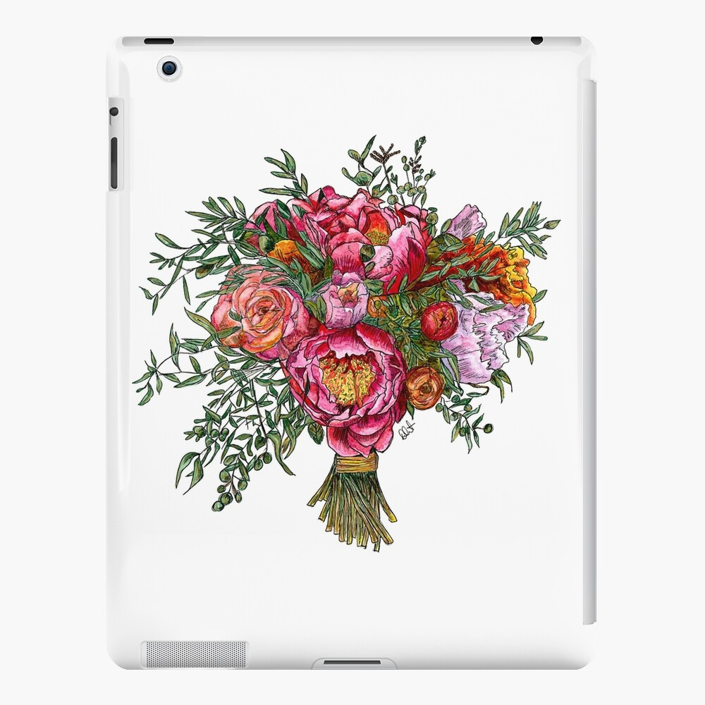 Peonies and Roses iPad Case & Skin