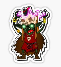 Goblin Shaman Sticker Sticker