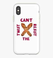 Can't resist the twist! iPhone Case