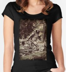 Spaceman Women's Fitted Scoop T-Shirt