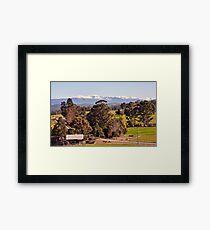 Hartz Mountains from Judbury Framed Print