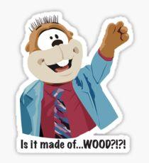 Mr Woodchuck Sticker