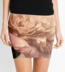 Peonies III Mini Skirt
