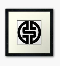 $ Logotype 01 2012 Framed Print