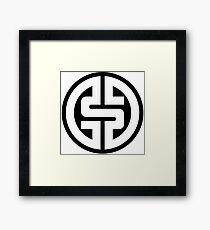 $ Logotype 02 2012 Framed Print