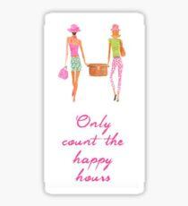 Lilly Pulitzer Happy Hour Sticker