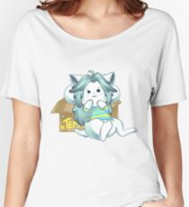 Temmie Undertale Women's Relaxed Fit T-Shirt