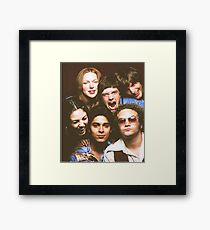 That '70s Show Cast Framed Print