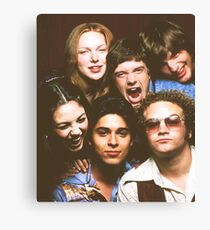 That '70s Show Cast Canvas Print