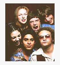 That '70s Show Cast Photographic Print