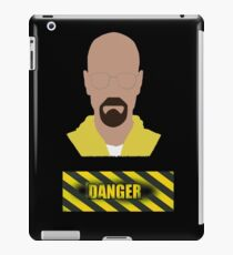 Walter White minimalist design iPad Case/Skin