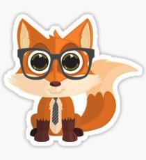 Fox Nerd Sticker