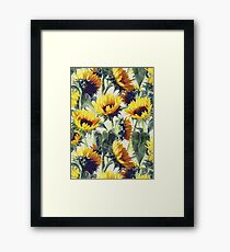 Sunflowers Forever Framed Print