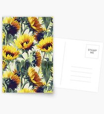 Sunflowers Forever Postcards