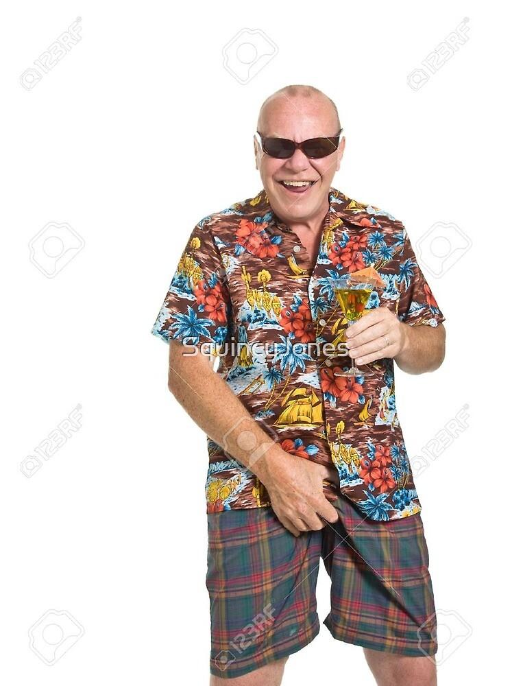 5468392e old man in a loud Hawaiian shirt