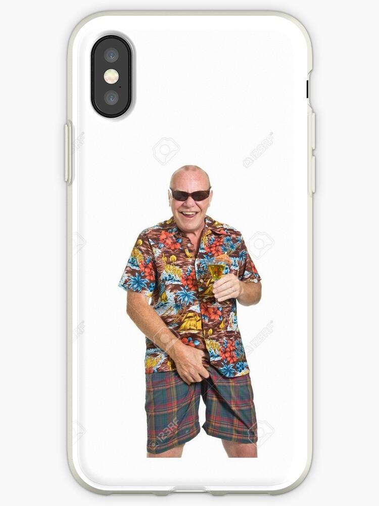 c151f7c5 old man in a loud Hawaiian shirt