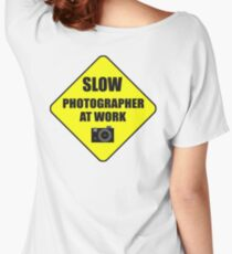 slow photographer Women's Relaxed Fit T-Shirt