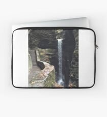 Watkins Glen State Park in New York , USA Laptop Sleeve