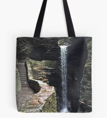 Watkins Glen State Park in New York , USA Tote Bag