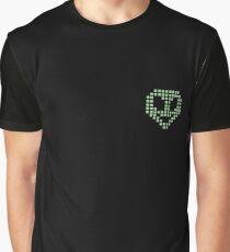 Pixel Alien Graphic T-Shirt