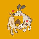 Dogs Sniffing Butts and Falling in Love by Zoo-co