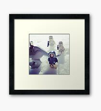 Look out Han! Framed Print