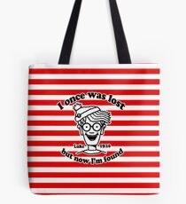 I once was lost Waldo Tote Bag