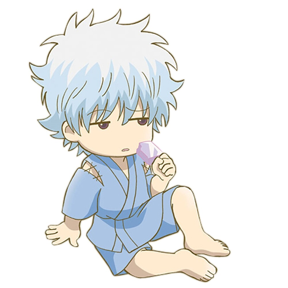 """Gintama - Sakata Gintoki"" by youngtrendsette Redbubble"