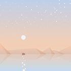 Fisherman fishing by Diana Hlevnjak