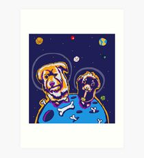 Crater Dogs Art Print