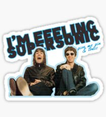 supersonic Sticker
