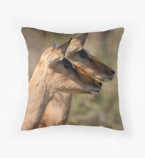Impala in Kwazulu-Natal South Africa Throw Pillow