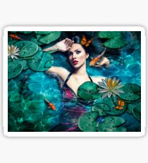 The Water Nymph Sticker