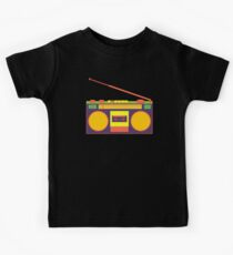 boombox - old cassette - Devices Kids Clothes