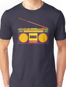 boombox - old cassette - Devices Unisex T-Shirt