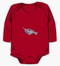 Galaxy Narwhal One Piece - Long Sleeve